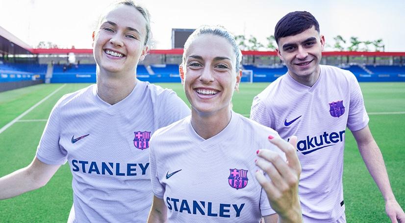 Camisa reserva do FC Barcelona 2021-2022 Nike (2)