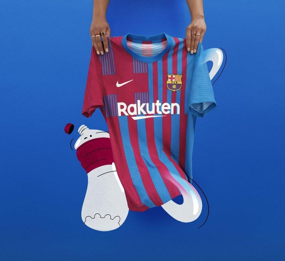 Novas camisas do FC Barcelona 2021-2022 Nike » Mantos do Futebol