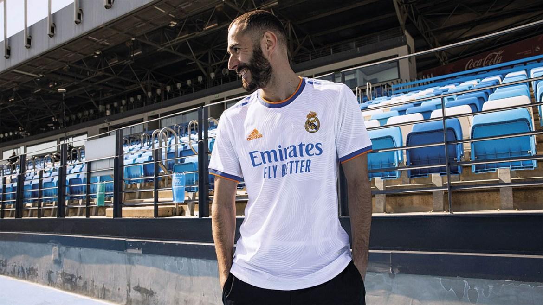 Novas camisas do Real Madrid 2021-2022 Adidas