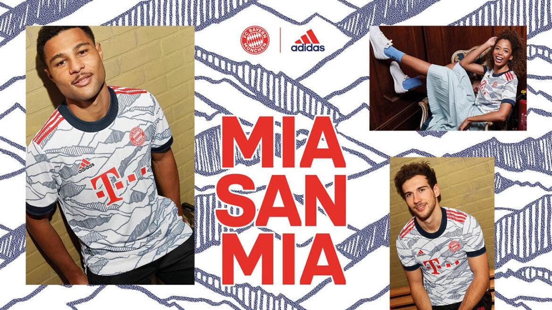 Terceira camisa do Bayern de Munique 2021-2022 Adidas