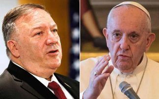 Vatican denies U.S. Secretary of State Pompeo meeting with pope, accuses him of playing politics