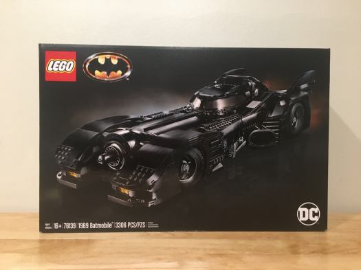 LEGO Batmobile (1989) - Front box cover