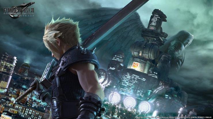 La portada de Final Fantasy 7 Remake dice que es una exclusiva de PS4 cronometrada hasta 2021 12