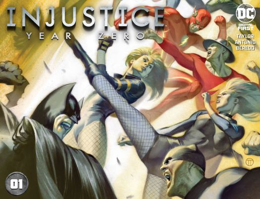 Injustice: Year Zero Chapter 1 cover by Julian Totino Tedesco. (Image Credit: DC)
