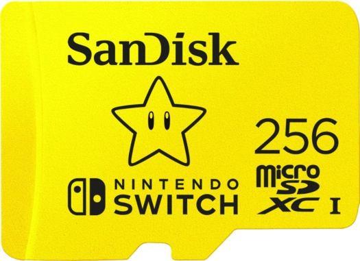 256GB microSDXC Memory Card for Nintendo Switch