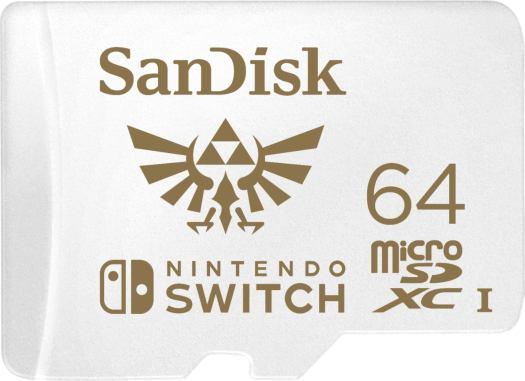 64GB microSDXC Memory Card for Nintendo Switch