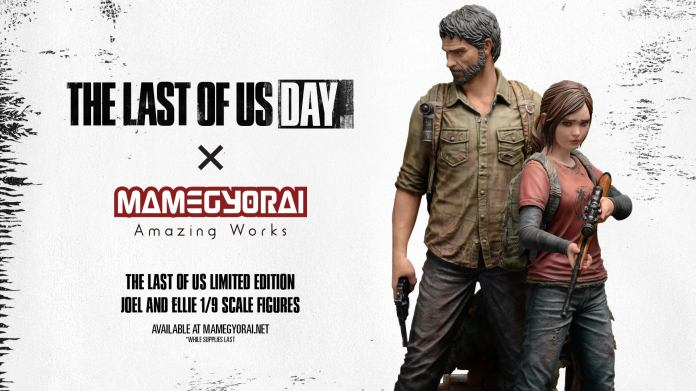 1/9 Scale Set of Joel and Ellie from The Last of Us figures by Mamegyorai.