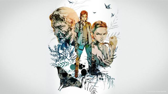 Kojima Productions' Yoji Shinkawa's The Last of Us Part 2 Artwork