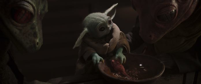 The Child in Mandalorian Chapter 11 (Photo credit: Lucasfilm Lt.)