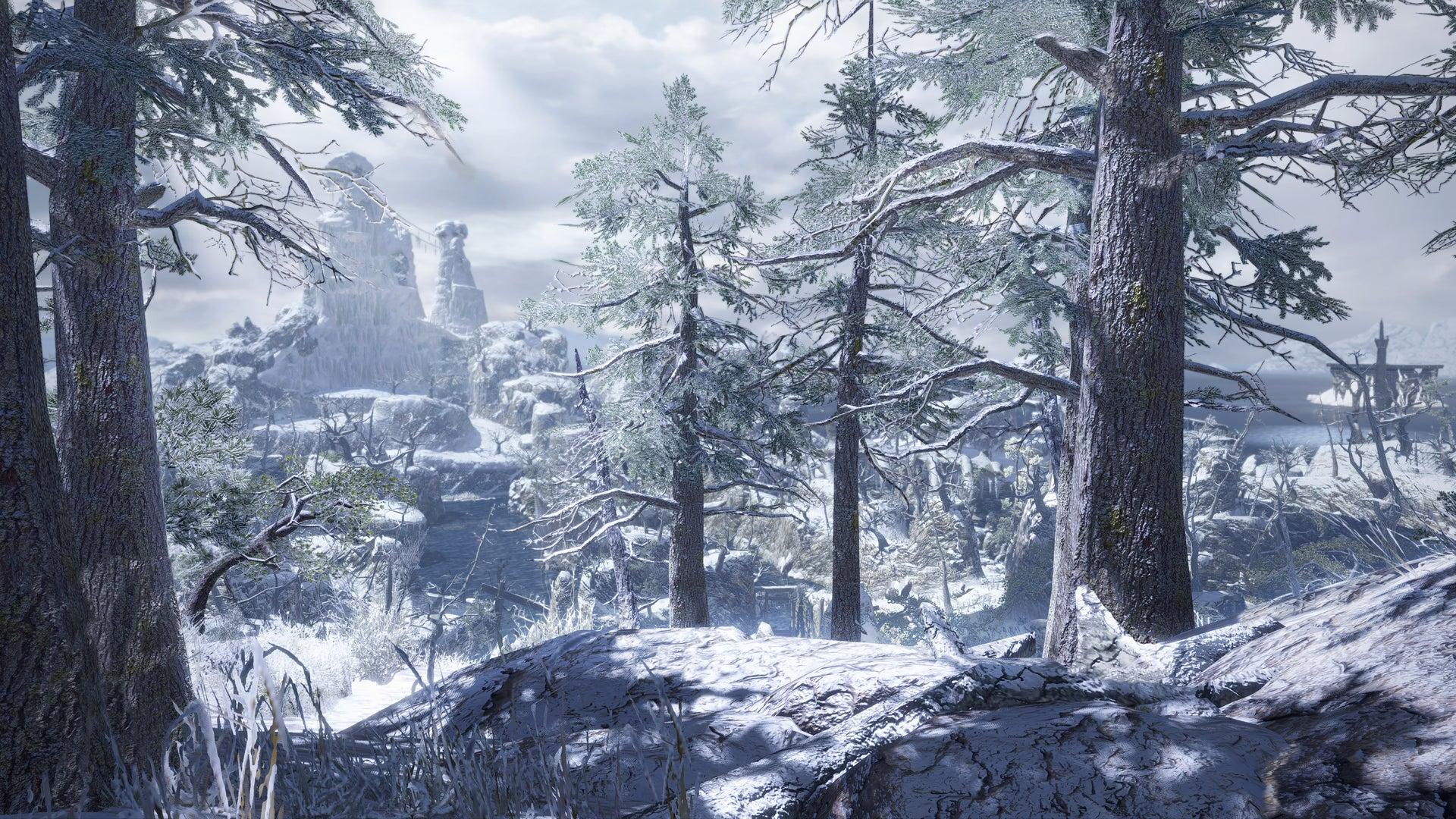 Frozen Islands - Monster Hunter Rise Map