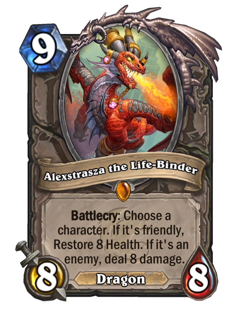 The brand new cards being introduced with Hearthstone's first Core set for the Year of the Gryphon.
