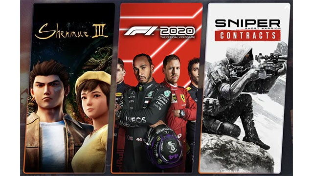 Humble Choice April PC Bundle: Shenmue 3, F1 2020, Sniper Ghost Warrior Contracts, and 9 More Games