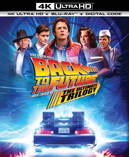 Back to the Future: The Ultimate Trilogy 4K UHD Boxed Set
