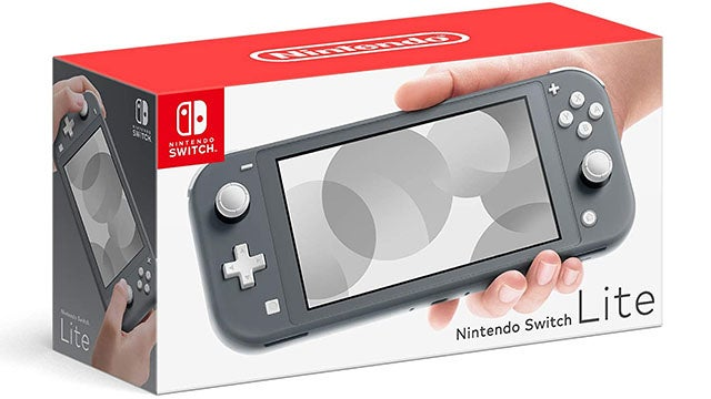 Nintendo Switch Lite (Gray) with Bonus SanDisk Ultra 128GB Memory Card
