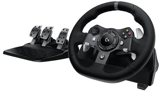Logitech G920 Driving Force Racing Wheel and Pedals Set for Xbox, PC
