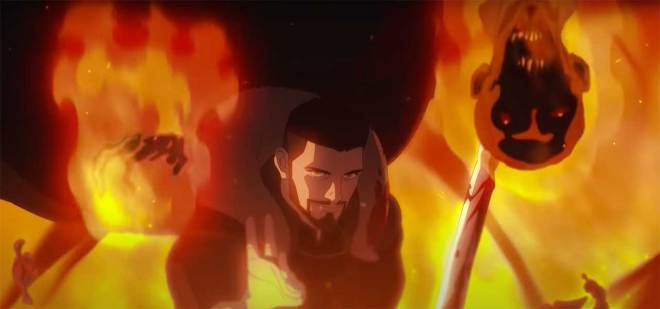 vesemir-fights-ghouls-1626908537070 The Witcher: Nightmare of the Wolf Anime Trailer Breakdown | IGN