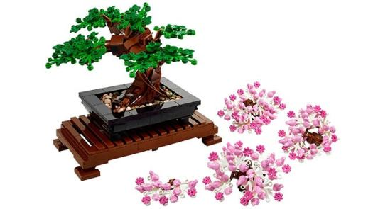 LEGO Bonsai Tree 10281 878-Piece Building Kit