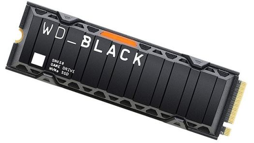 WD Black SN850 1TB Gen4 x4 M.2 SSD (up to 7000Mbps)