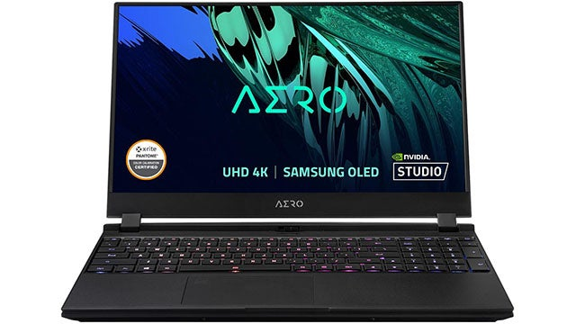 "Gigabyte Aero 15"" 4K OLED Intel Core i7-11800H RTX 3080 Gaming PC with 16GB RAM, 1TB SSD"