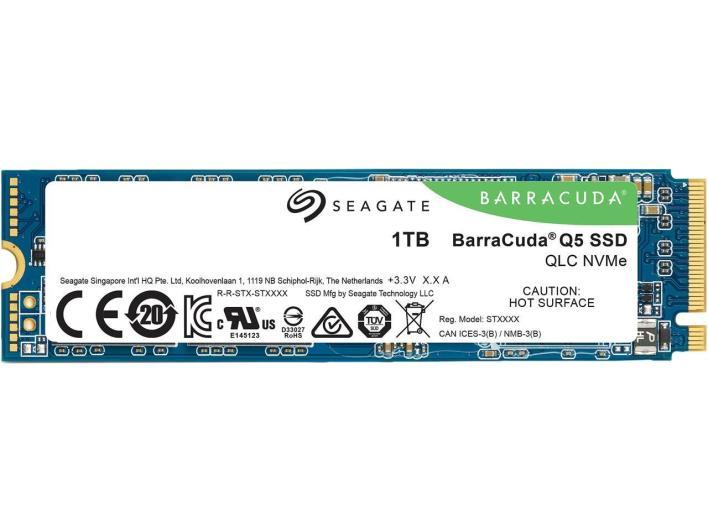 Seagate BarraCuda 1TB NVMe SSD