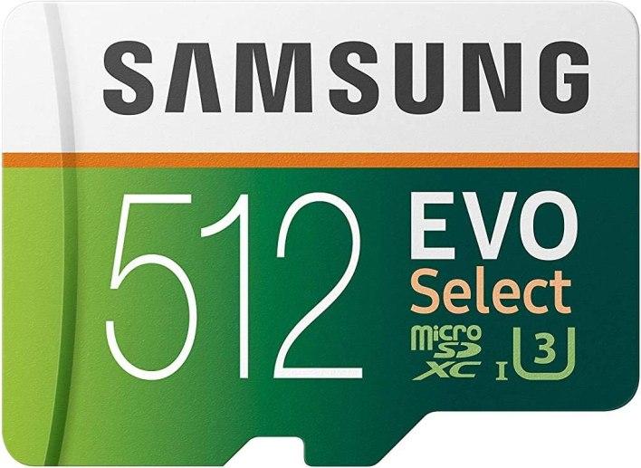 SAMSUNG EVO Select 512GB microSDXC
