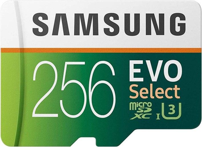 SAMSUNG ELECTRONICS EVO Select 256GB MicroSDXC