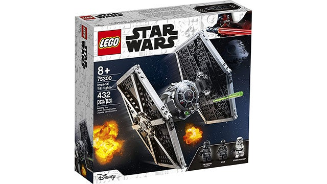 LEGO Star Wars Imperial TIE Fighter 75300 432-Piece Building Kit