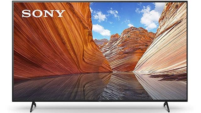 """Sony X80J 75"""" 4K Smart TV"""