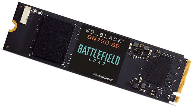 WD Black SN750 500GB PCIe Gen4 x4 M.2 SSD (up to 3600MBps)