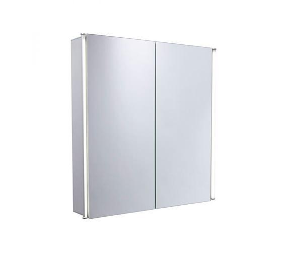 Tavistock Sleek 600mm Double Door Mirror Cabinet With LED