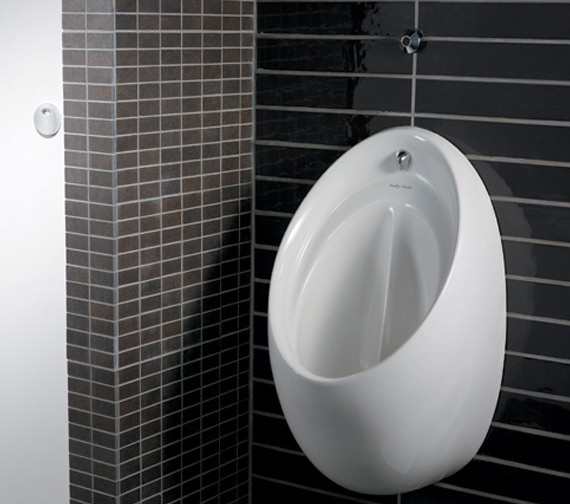 Armitage Shanks Contour 67cm Concealed Urinal With Rimless