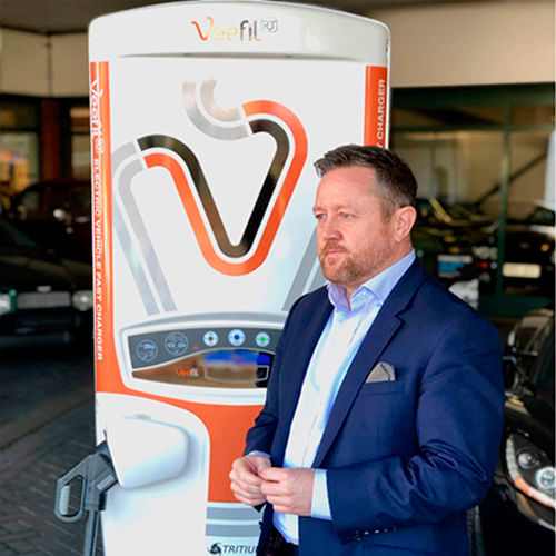 Kevin Pugh, country manager at Tritium.