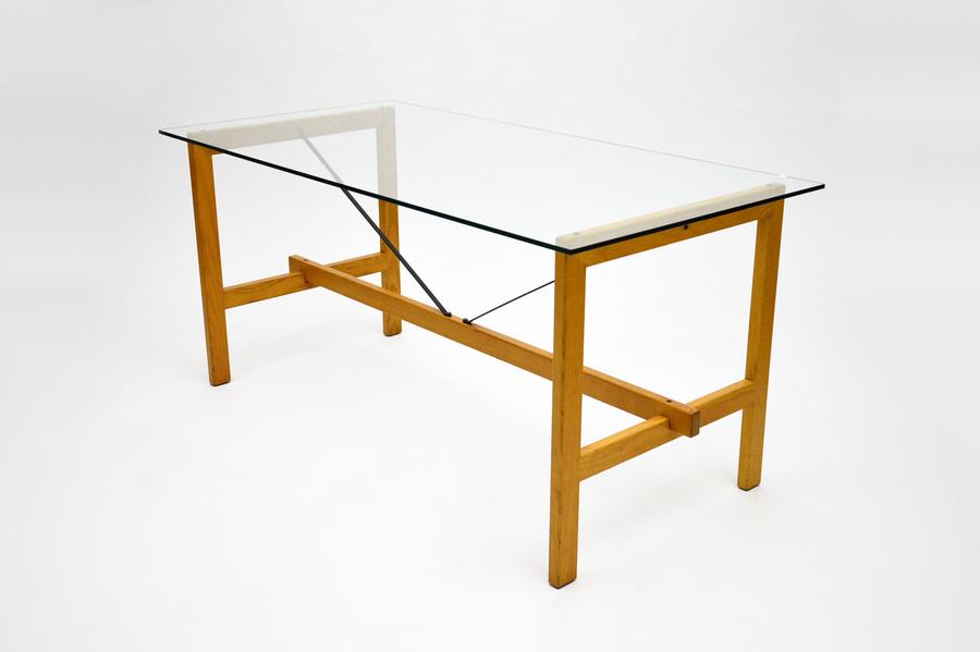 rationalist festival table by de pas d urbino and lomazzi for zanotta italy 1975