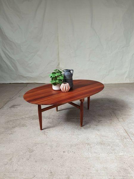 vtg mid century danish moller gudme mobelfabrik large oval coffee table niels o moller gudme mobelfabrik vinterior