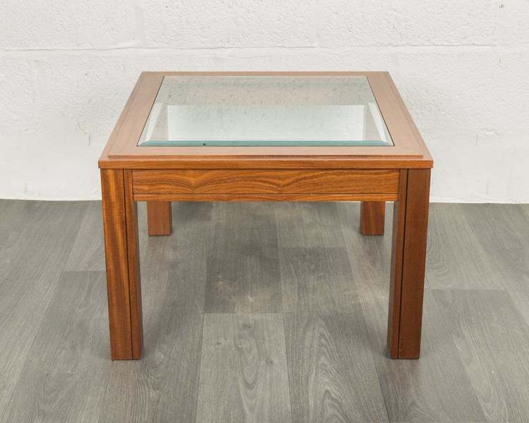 g plan square teak glass coffee table side tables retro mid century g plan vinterior