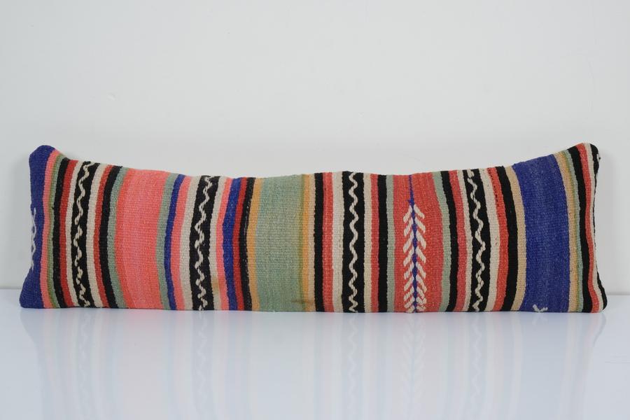 12 x 40 turkish big pillow cover lumbar pillow long pillow cushion boho pillow cover decorative kilim pillow cover extra long vinterior