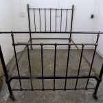 Antique Victorian Iron Double Bed Cast Iron Bed Bed Bedroom Bed Frame Double Vinterior