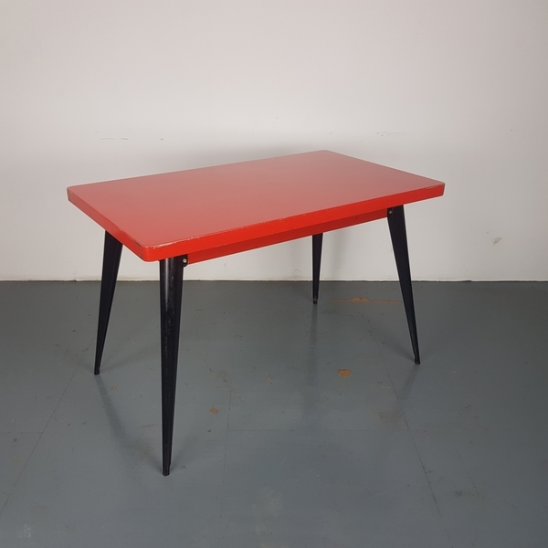 1960 s model 55 table desk by jean pauchard for tolix vinterior