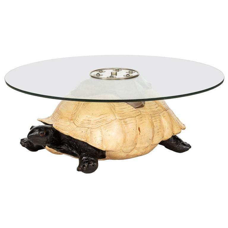 Unusual Coffee Table In The Form Of A Turtle By Anthony Redmile London Anthony Redmile Vinterior