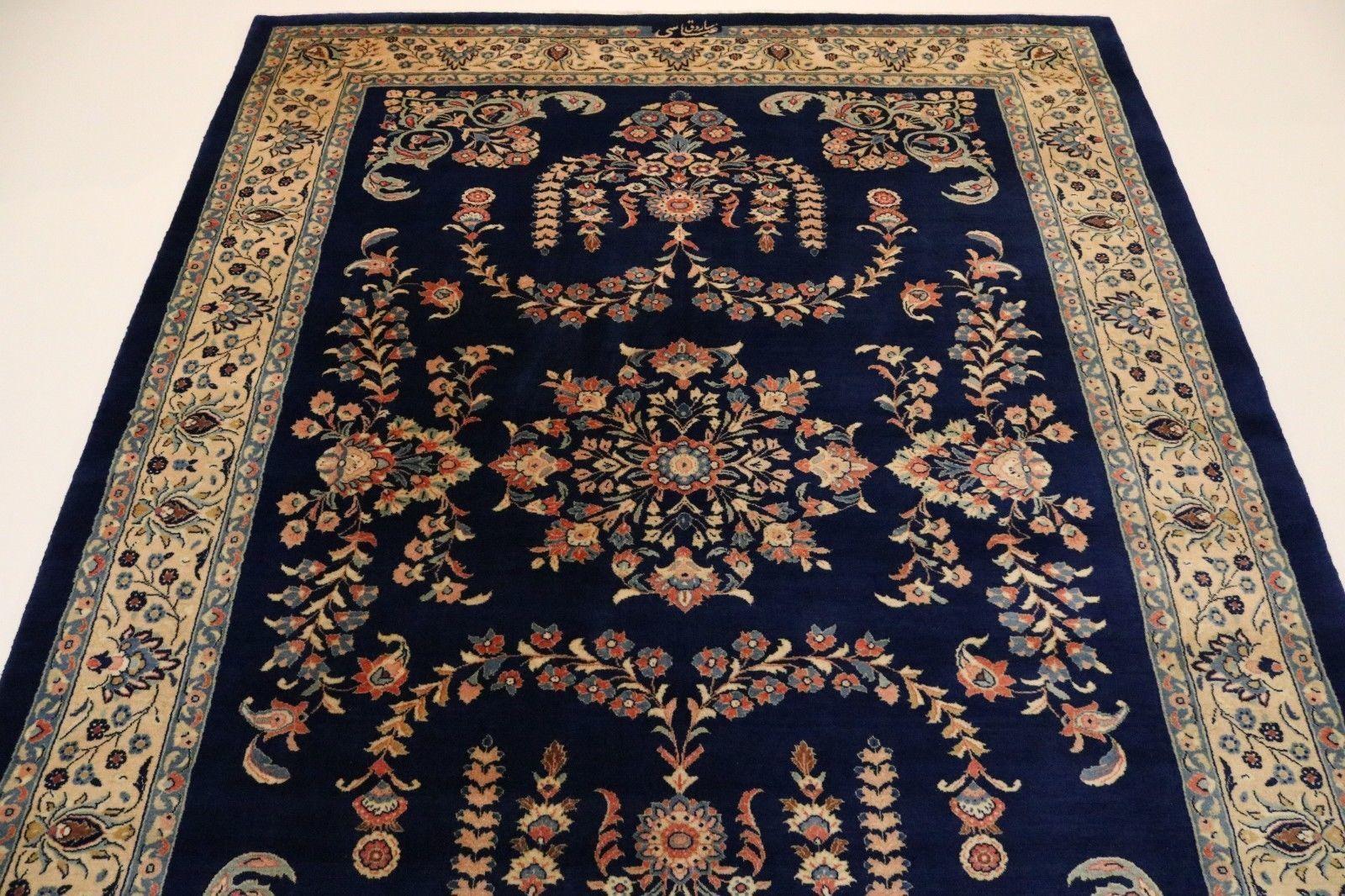 Sherkat Sarougi Signed Fine Persian Rug Oriental Rug 2 69 X 2 00 Vinterior Co