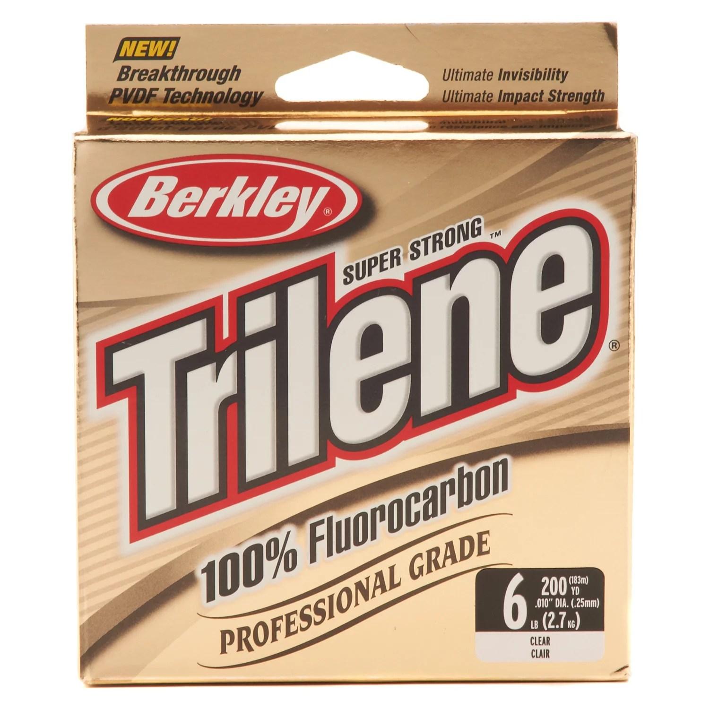 Berkley® Trilene 200-Yard Professional-Grade 100% Fluorocarbon Fishing Line - view number 1