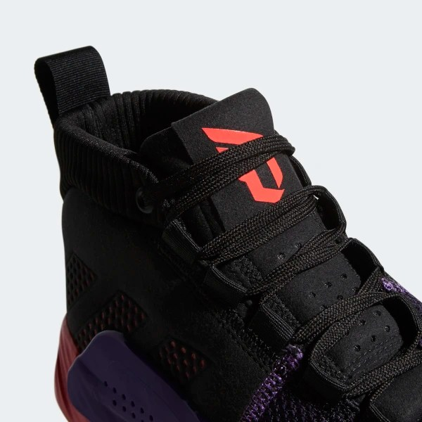 a7143447b9ad9e Dame 5 Shoes Core Black   Shock Red   Active Purple BB9313