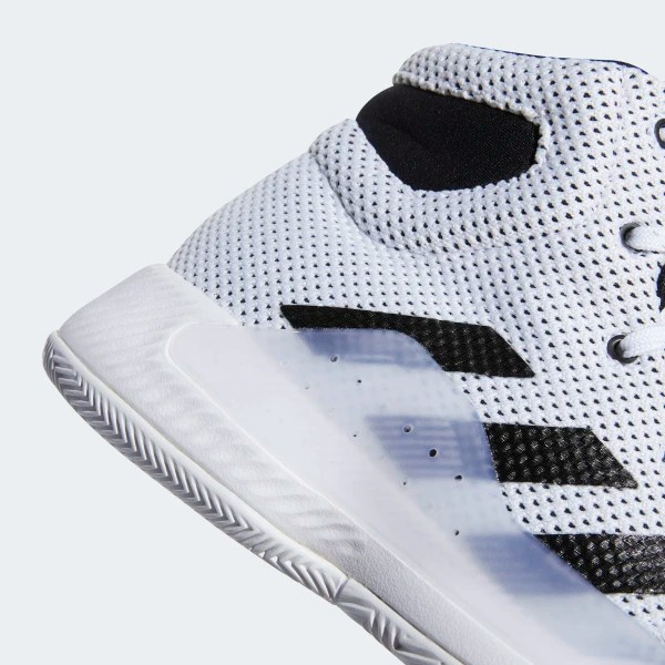 Pro Bounce Madness 2019 Shoes Cloud White / Core Black / Cloud White BB8072