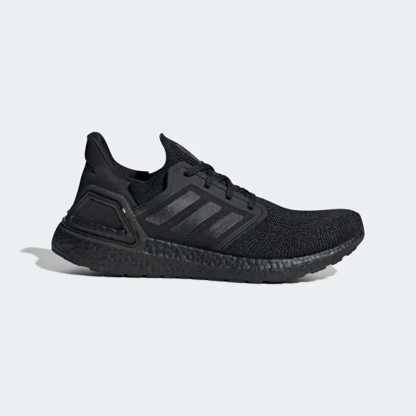 adidas Ultraboost 20 'Triple Black' .50 Free Shipping