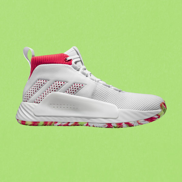 Dame 5 Shoes Cloud White / Shock Red / Crystal White BB9312