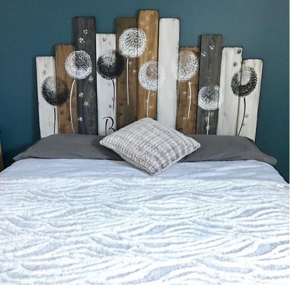 33 modeles de tete de lit en bois pour