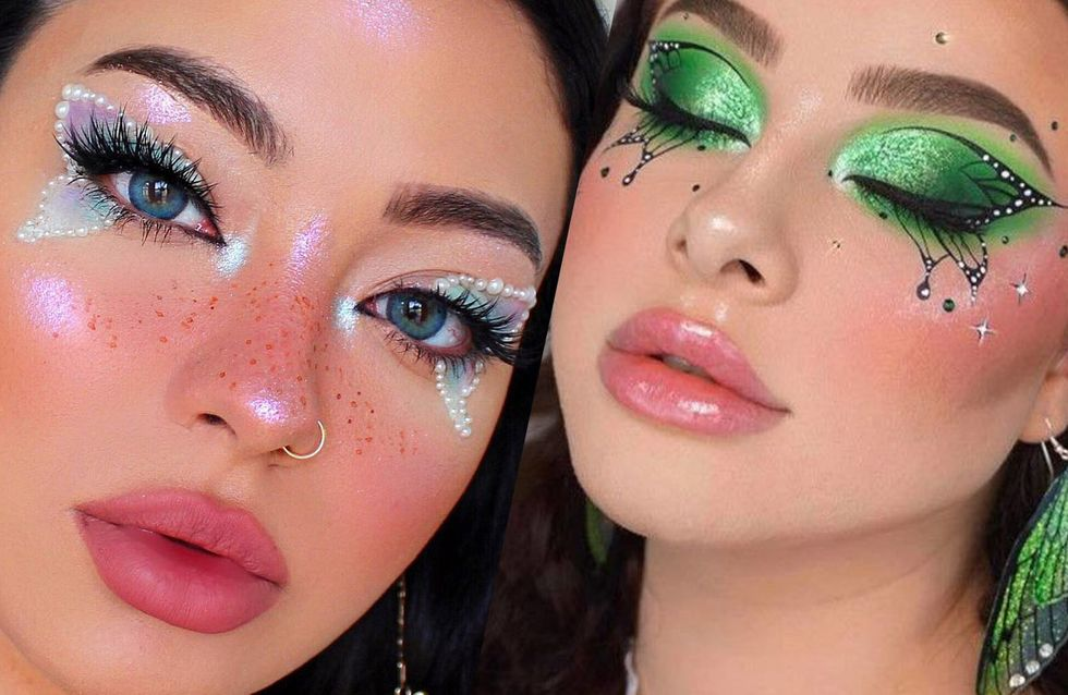 maquillage quot papillon quot femme
