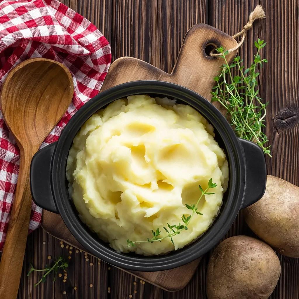 puree de pommes de terre maison au monsieur cuisine
