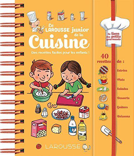 les livres de recettes pour enfant