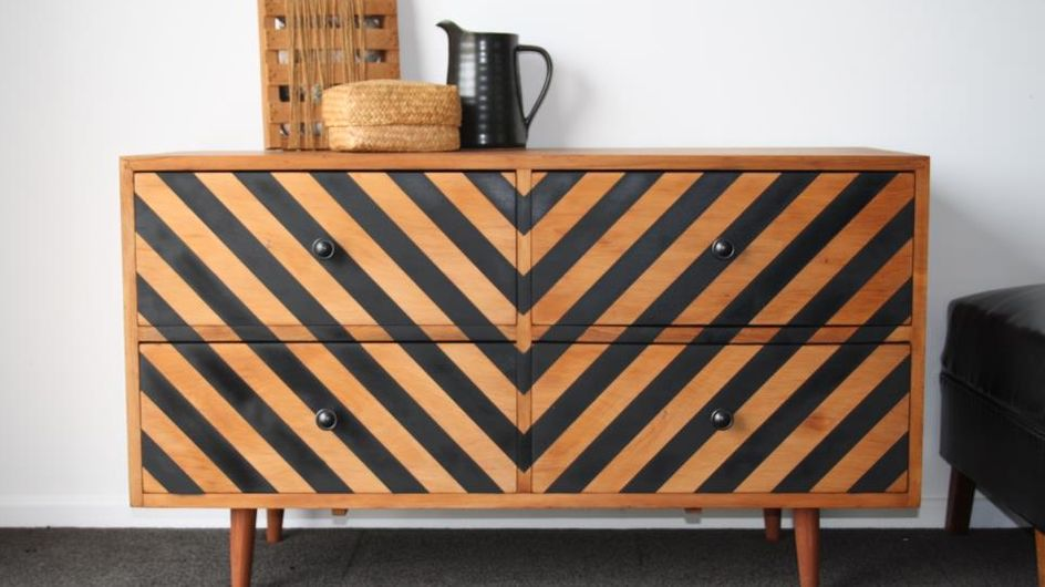 tendances pour relooker un meuble en bois